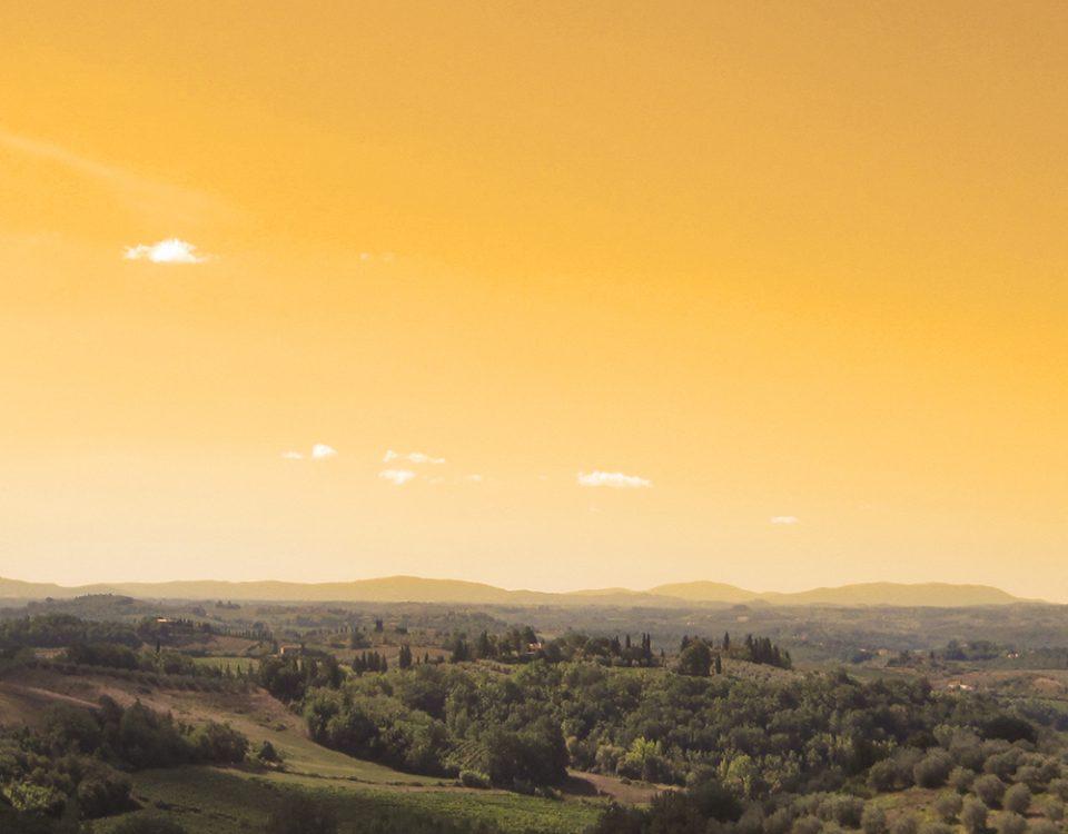 Il paesaggio della Valdelsa