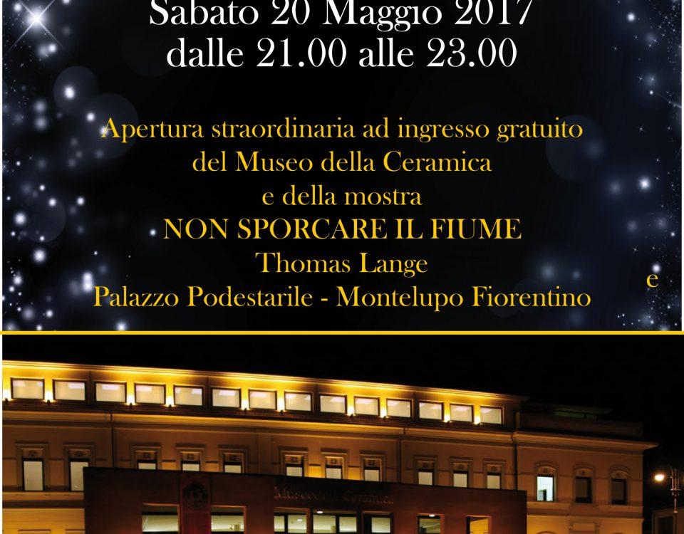 La notte dei musei al museo della ceramica di Montelupo