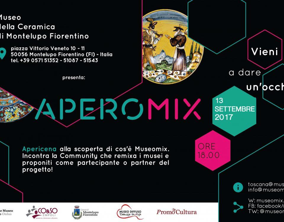 Aperomix al Museo della Ceramica mercoledì 13 settembre dalle 18.00