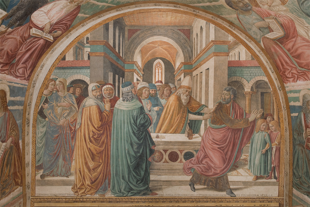 Tabernacle of the Visitation by Benozzo Gozzoli